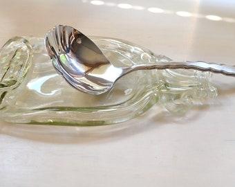 Vermont Maple Syrup Slumped Bottle Spoon Rest