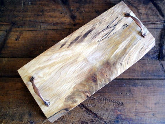 Natural Edge Maple Cutting & Serving Board