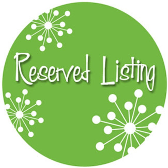 Reserved listing for the hachbw