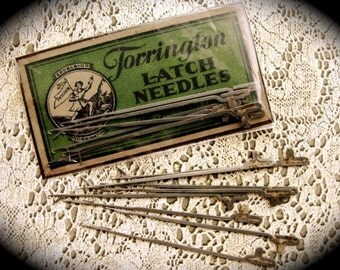 Antique Latch Hook Latch Needles N0.563