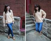 Caramel Cashmere Sweater : Vintage Pullover M,L,XL