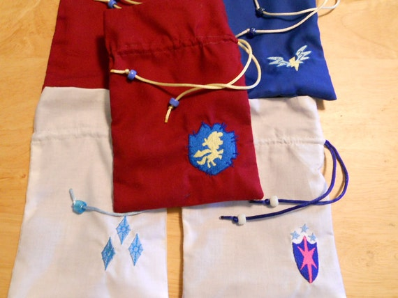 Reserved for Rnway - Pony dice bags