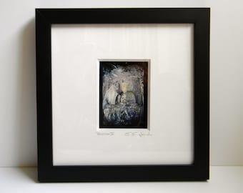 Framed Art, Buddha Art, Museum Quality Framed Photography, Buddha Photo, Shadowbox Wall Art, Zen Decor, Framed Buddha Print, Nine Dragons