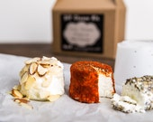Crumbly Goat Cheese and Creamy Chevre- D.I.Y. Cheese Kit- 10 batches