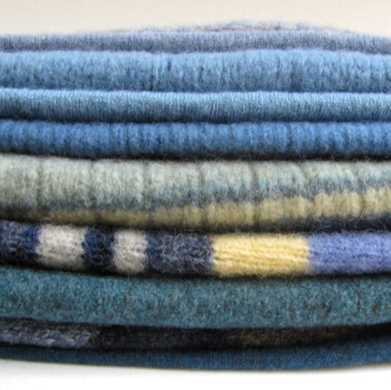 Beautiful Upcycled Wool Sweater Pieces, Merino, Lambs Wool, Ready to Repurpose