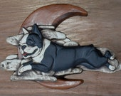 Boston terrier Over the Moon - Debra Bacianga