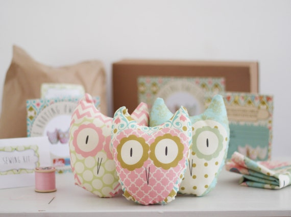 items similar to three hooting owls a simple diy sewing