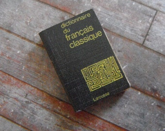 Miniature Book --- French Dictionary
