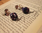 Twilight Sparkle Cupcake Earrings