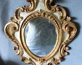 Vintage Hand Carved Italian Florentine or Venetian Mirror