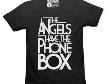 The Angels Have The Phone Box T-shirt White/Black