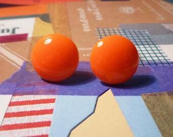 SALE - Sweet Earrings - Orange