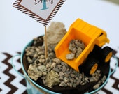 DIY Printable Construction Party invitation and Package - As seen on Hostess with the Mostess