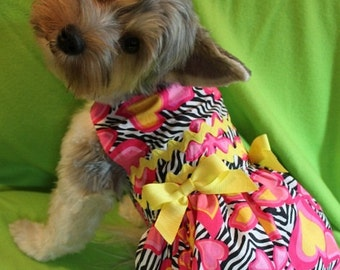 Psychedelic Summer Dog Dress - SM