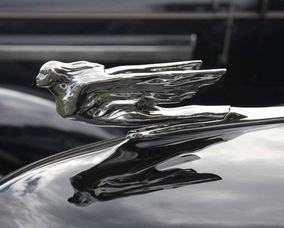 Items Similar To Vintage 41 Cadillac Flying Lady Hood