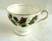 Royal Chelsea  Noel Tea Cup  Christmas