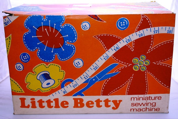 Little Betty sew's like mothers toy Reserved until 25th Oct - pls do not purchase