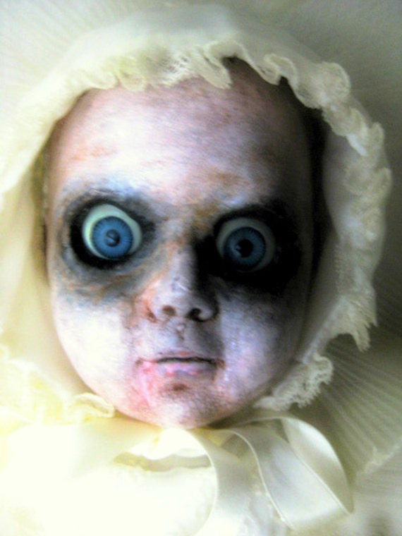 Little Poopsie free shipping sale  ooak Halloween Hand Sculpted Doll Creepy Scary