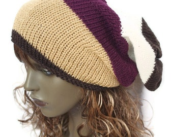 Knitted Oversized Slouchy Beanie