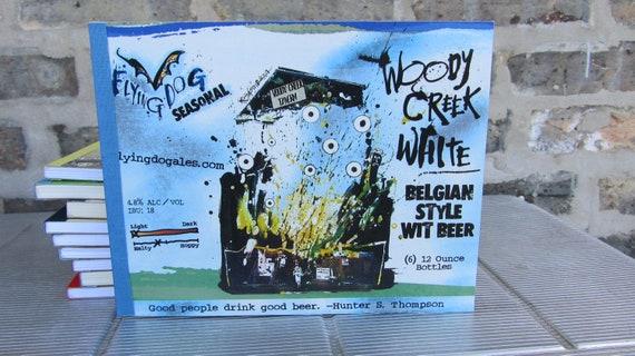 Recylced Beer Notebook