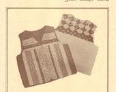 Vintage Calico Classics Vest Pattern by Eleanor Burns  multi sizes, Uncut