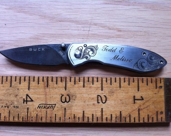 Pocket Knife, Anniversary Knife, Personalized Lockblade