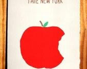 I Ate NY Blank Greeting Card