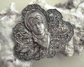 LAYAWAY for Niddiebone  -  French Art Nouveau brooch - Please do not buy unless you're Niddiebon
