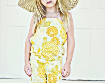 Toddler Baby Girl Floral One Piece Jumpsuit|Girls Jumpsuit|Girls Romper|First Birthday|Child One Piece|Child Overalls|Children's Fashion