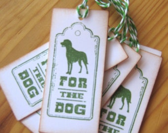 For The Dog Christmas Gift Tags