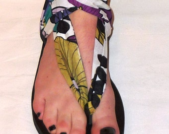 Leather Sandal - My Pick - Attachment- fabric