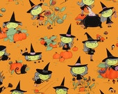 Gwendolyn Goodwitch in Orange by Alexander Henry - 1 Yard