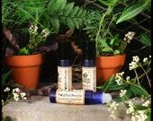 SALE Solarium Perfume - Rhododendron Leaf EO, Amber, Sandalwood, Geranium EO, Violet, Orange Blossom,  Lavender, Oakmoss & Mimosa