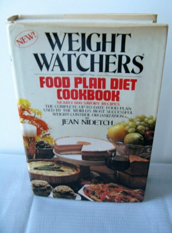 Vintage Cookbook/80s/ Weight Watchers/ Food Plan /Diet Cookbook