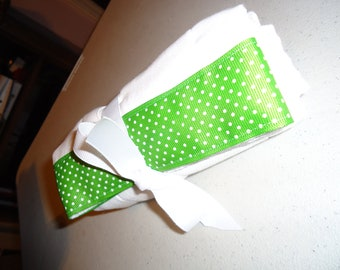 This is a baby burp cloth.