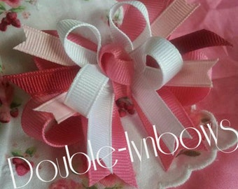 Strawberry Fields toddler hairbow M2M Janie and Jack J&J from Double-lynbows