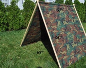 Tent for kids-Play tent- Camouflage tent-tepee-A shape tent  SALE Xmax gift