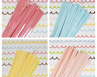 Stripe Twist Ties