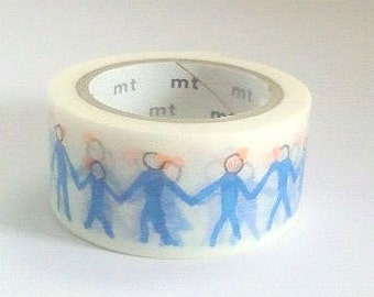 mt Washi Masking Tape - Neighbour - mina perhonen - Limited Edition