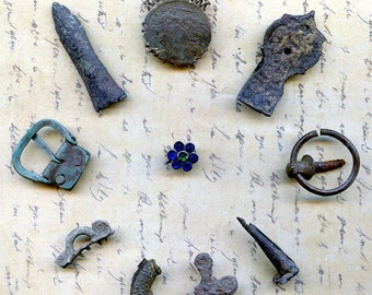 INSTANT COLLECTION found in a private dig... archaeology... days gone by... antique...  Cool Vintage... Laf X 460