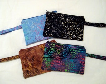 Clutch Bag with Wrist Strap - Great for Kindle or Cosmetics