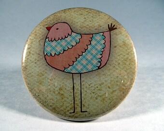 Bird pocket mirror 2