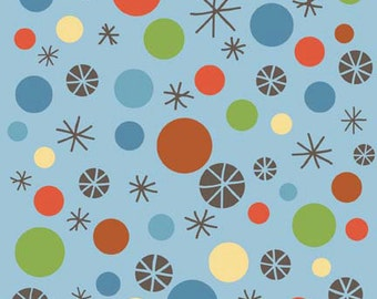 Scoot Blue Dots by Deena Rutter for Riley Blake Designs
