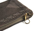 Glamorous - Antique Clutch - Black - Brown - Dark - Gold - New Year - Valentine's Day