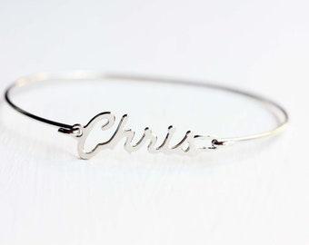 Vintage Name Bracelet - Chris