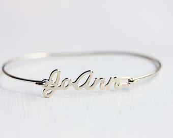 Vintage Name Bracelet - JoAnn