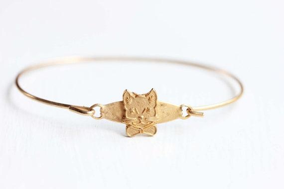 Small Cat Bracelet