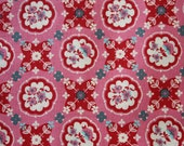 Domestic Bliss Kitchenette 1 Yard Cut - Pink Colorway