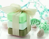 Soap Gift Sets - 3 Bars 6 oz  Each  - Natural Soaps - Organic Soap - Moisturizing Soap - Glycerin Soap -  Choose Your Own Scent