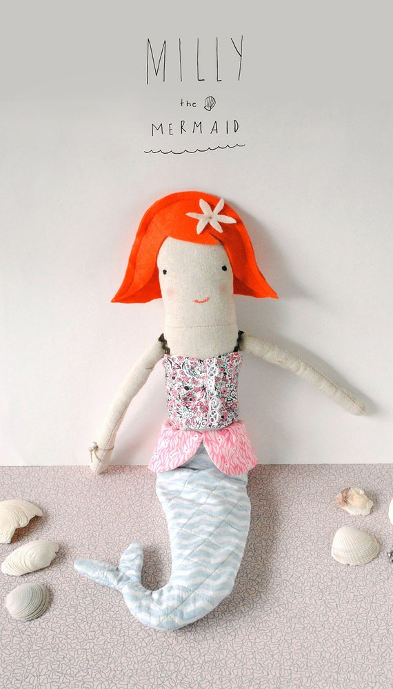 Milly The Mermaid Doll Pattern